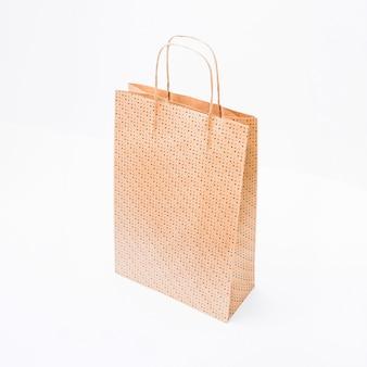 Maquete de sacola de compras