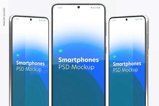 Maquete de smartphone, close-up