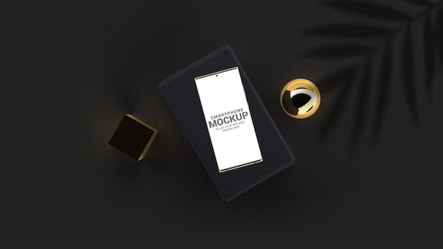 Maquete de smartphone de luxo