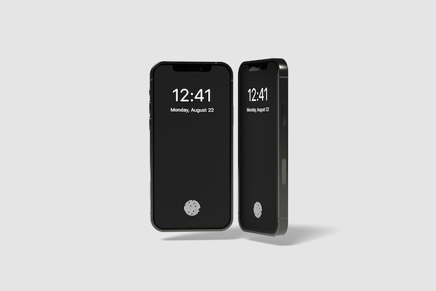 Maquete de smartphone do dispositivo