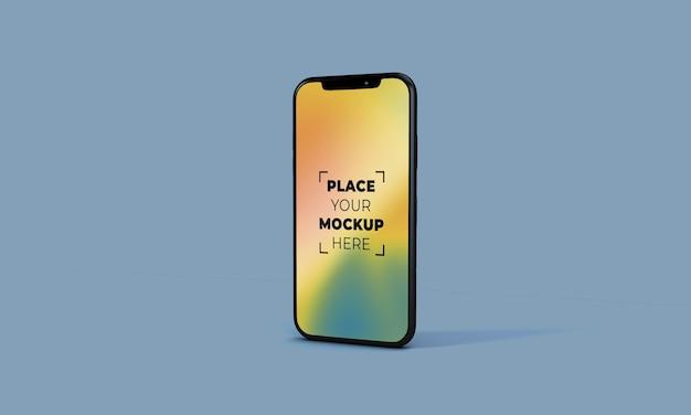 Maquete de smartphone em tela cheia