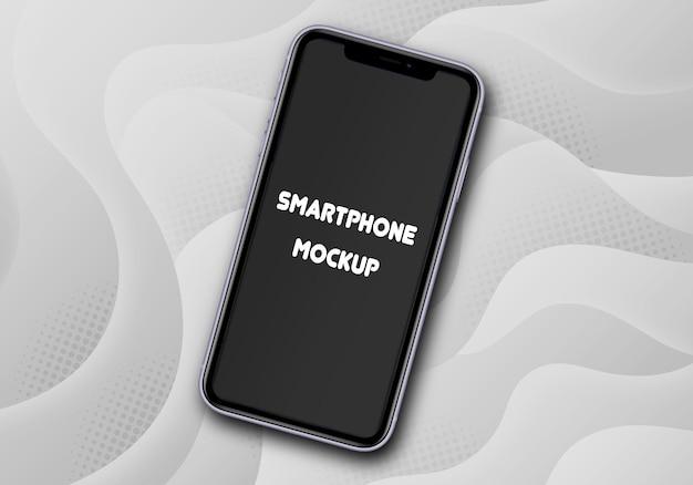Maquete de smartphone isolada
