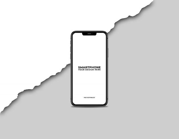 Maquete de smartphone limpa Psd Premium