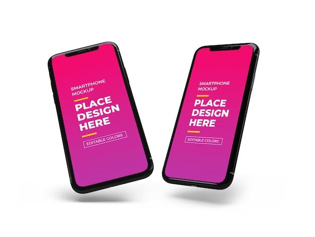 Maquete de smartphone moderno