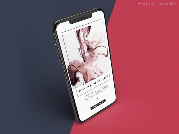 Maquete de smartphone para identidade de marca