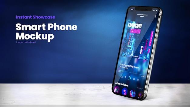 Maquete de smartphone premium