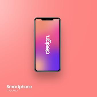 Maquete de smartphone super realista