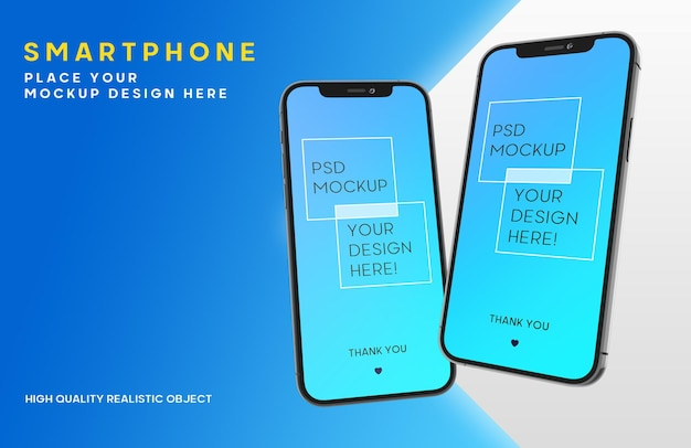 Maquete de smartphone