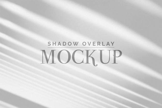 Maquete de sobreposição de sombra