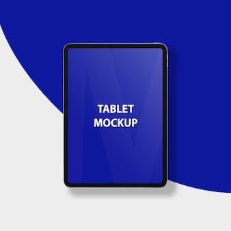 Maquete de tablet realista