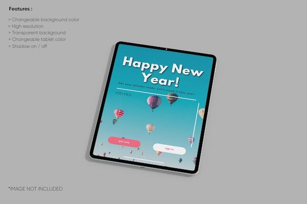 Maquete de tablet
