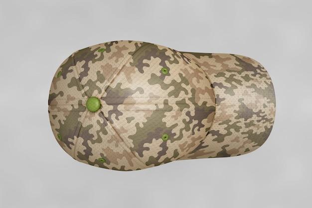 Maquete de tampa militar