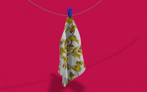 Maquete de tecido