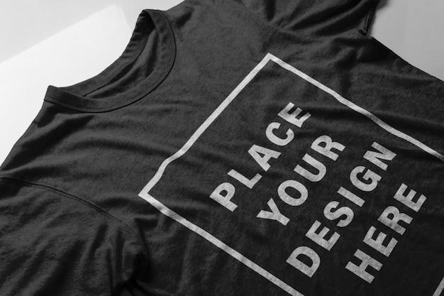 Maquete de tela de camiseta