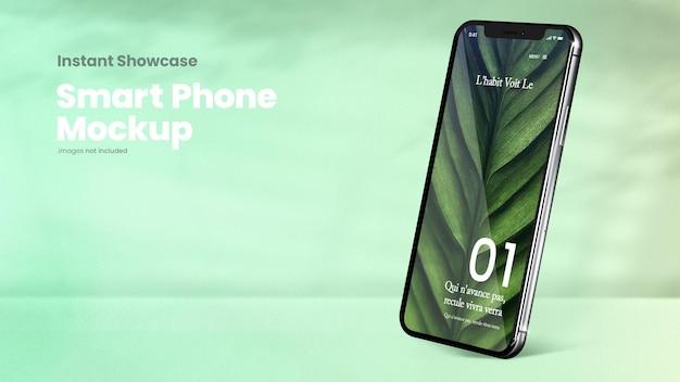 Maquete de tela de smartphone clássico