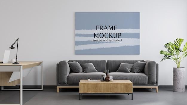 Maquete de tela horizontal