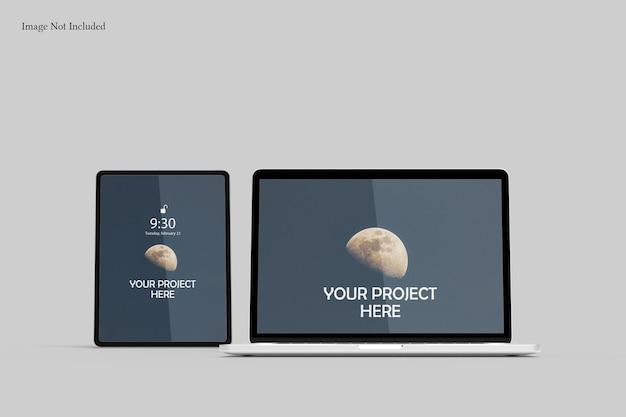 Maquete de tela responsiva