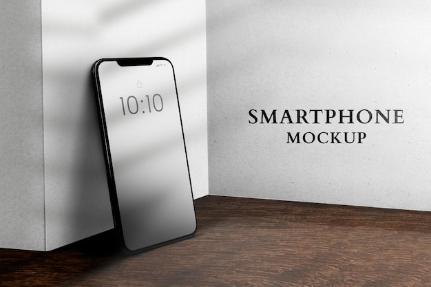 Maquete de telefone celular psd dispositivo digital