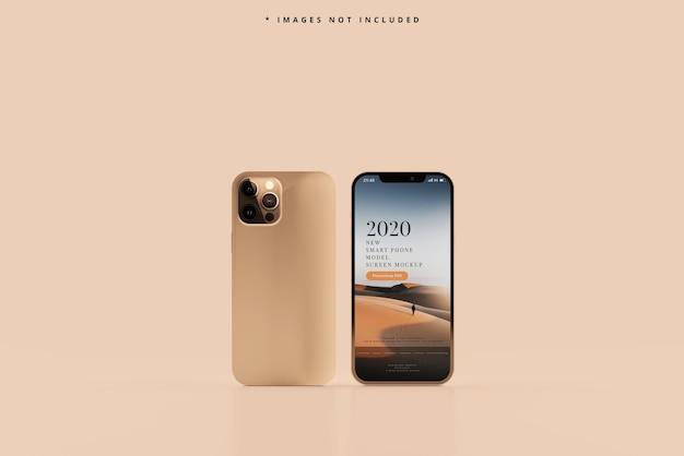 Maquete de telefone inteligente moderno