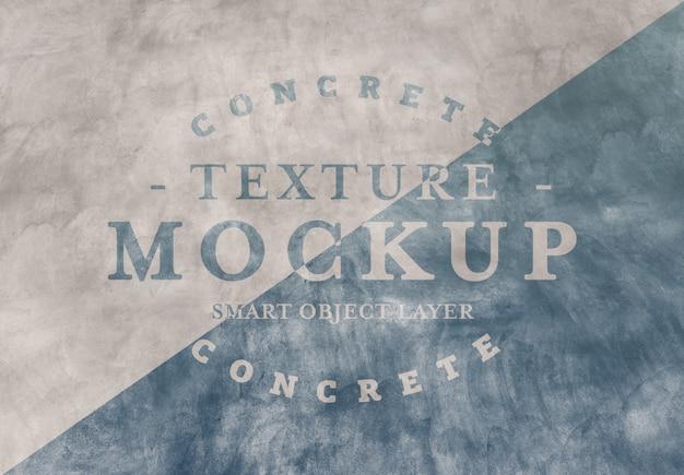 Maquete de textura de concreto