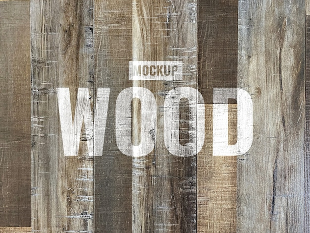 Maquete de textura de madeira grunge