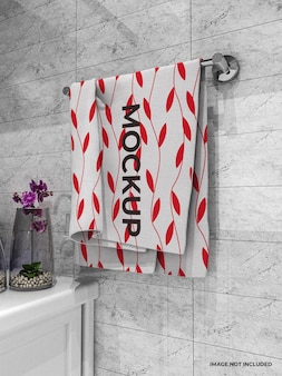 Maquete de toalha