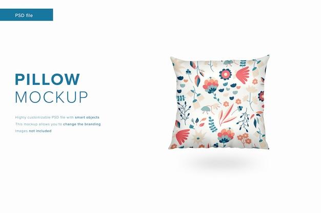 Maquete de travesseiro em estilo de design moderno