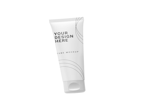Maquete de tubo cosmético