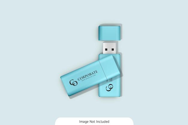 Maquete de unidade flash usb