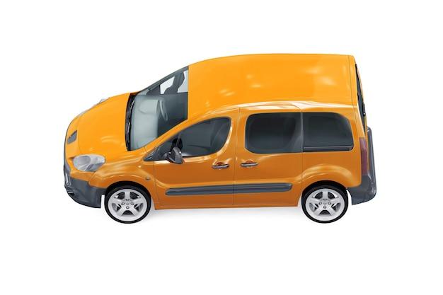 Maquete de veículo multifuncional mpv