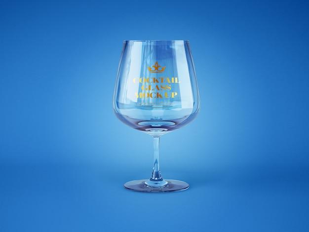 Maquete de vidro de coquetel