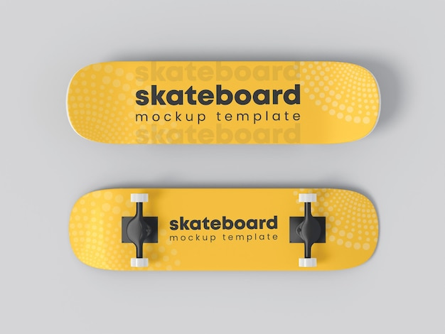 Maquete de vinil para skate