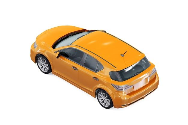 Maquete do carro hatchback 2011