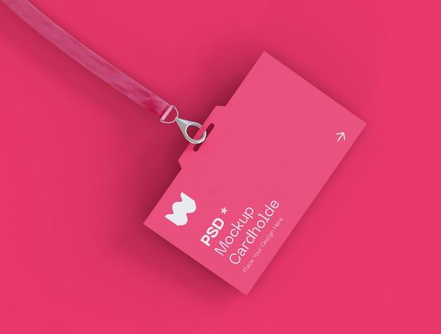 Maquete do cartão de identidade