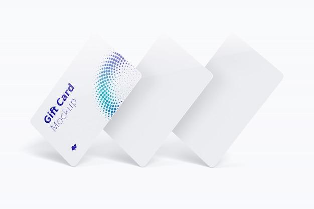 Maquete do cartão de presente