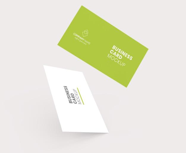 Maquete do cartão de visita do vôo