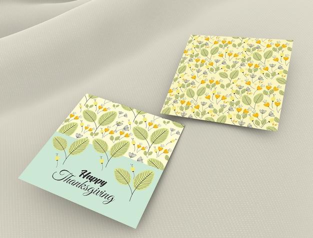 Maquete do cartão