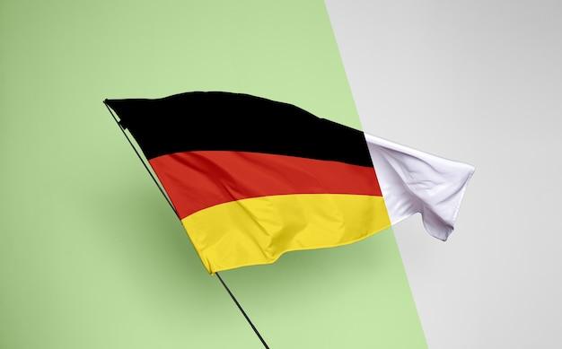Maquete do conceito de bandeira alemanha Psd grátis