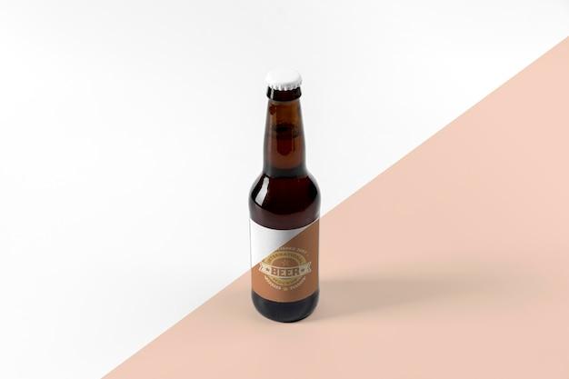 Maquete do conceito de cerveja artesanal