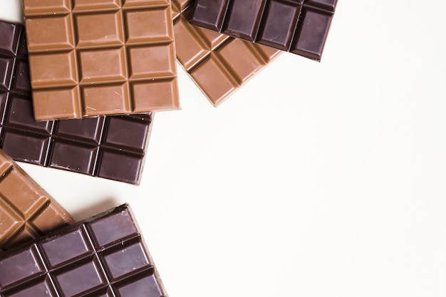 Maquete do conceito de chocolate delicioso