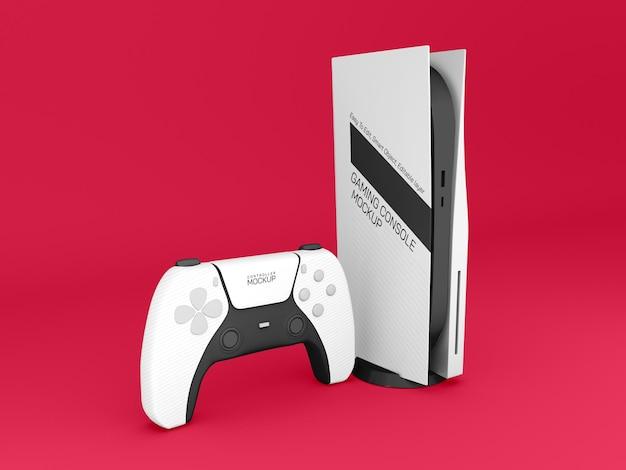 Maquete do console de jogos