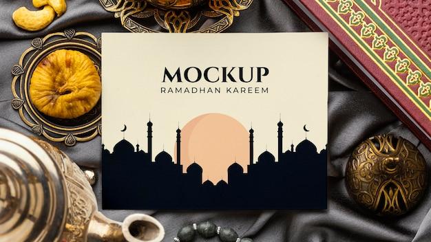 Maquete do desenho do ramadã