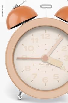 Maquete do despertador, close-up