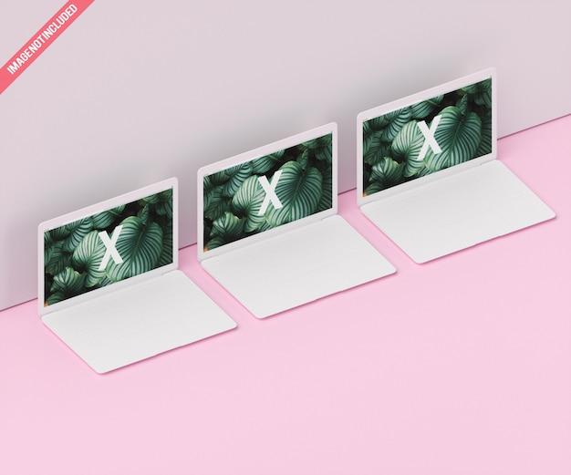 Maquete do dispositivo de tela