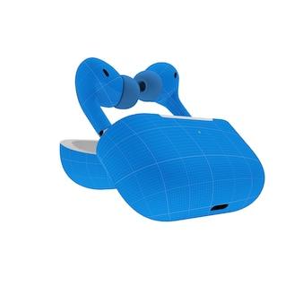 Maquete do fone de ouvido