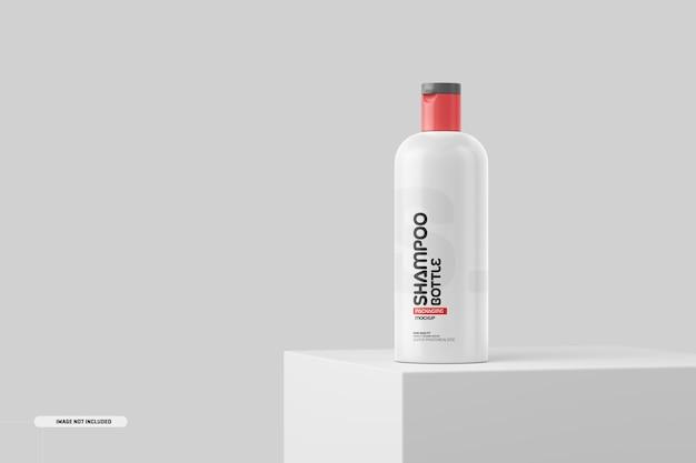 Maquete do frasco de cosméticos