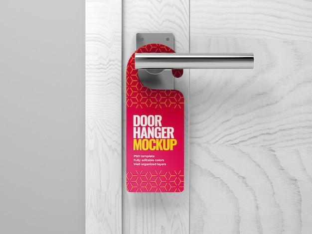 Maquete do gancho da porta
