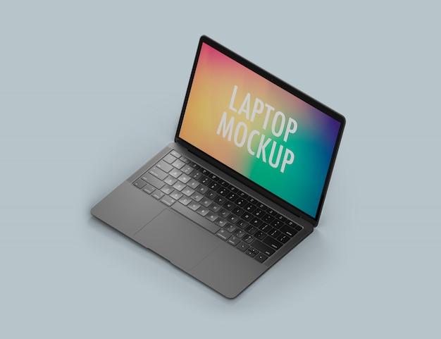 Maquete do laptop