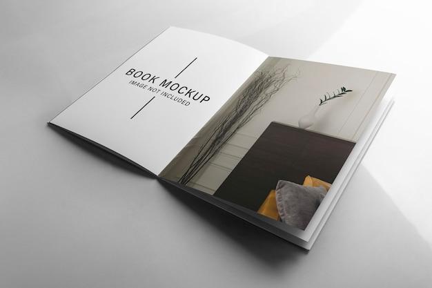 Maquete do livro interno