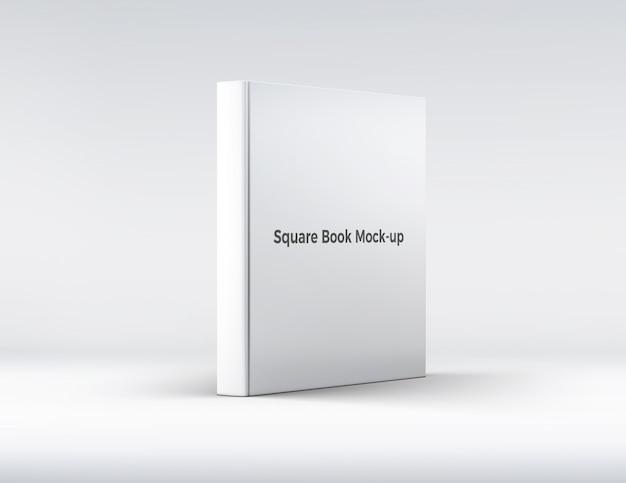 Maquete do livro quadrado